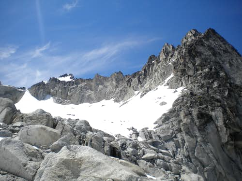 Colchuck and Dragontail via Scramble Routes