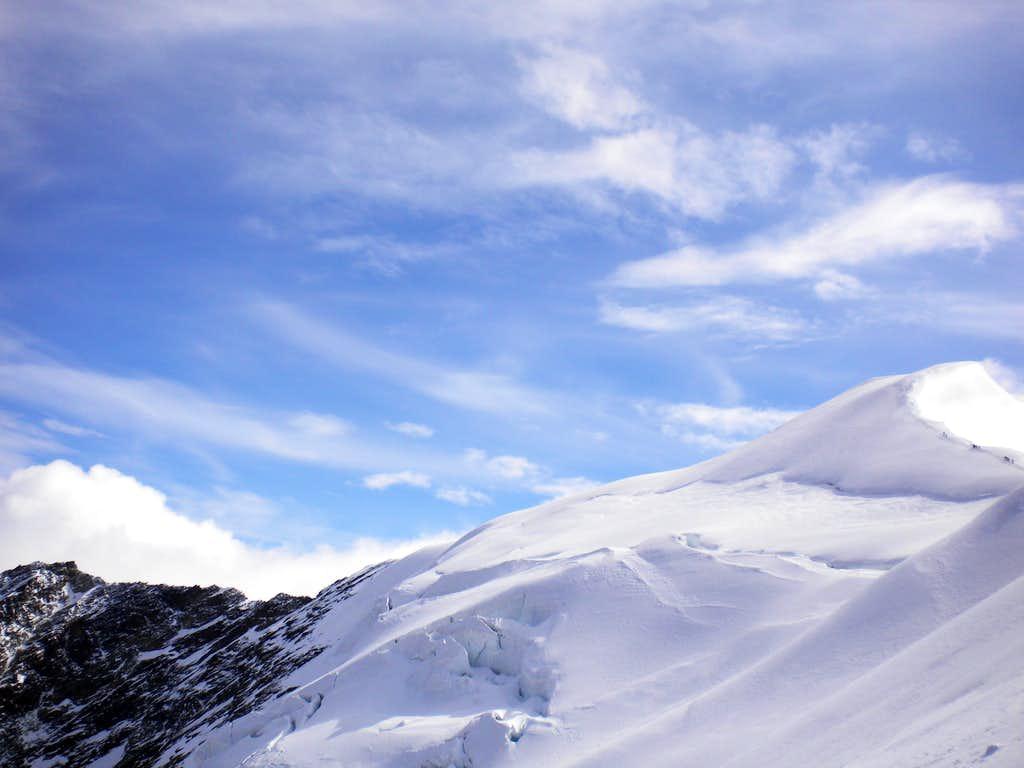 Weissmies north-ridge