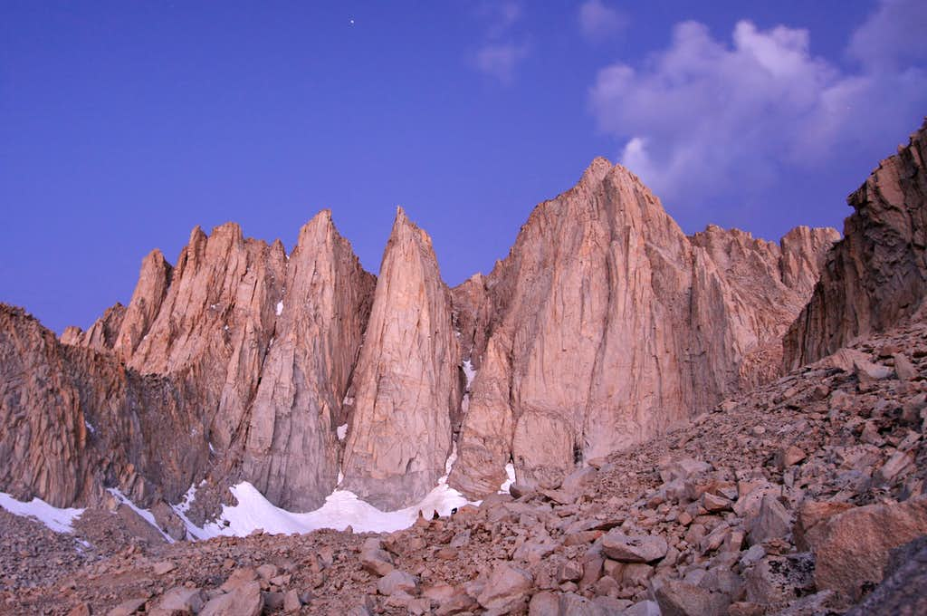 East Buttress, Mount Whitney
