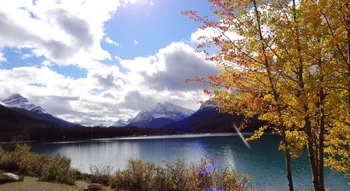 The Fall Season in Banff