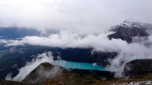 Lake Louise and Mount Fairview
