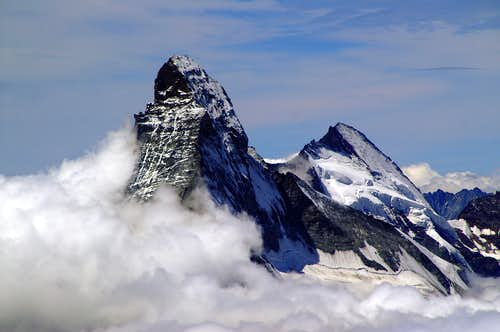 Cervino and Dent d'Hérens