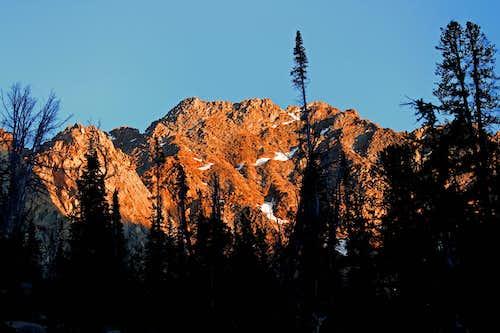 Castle Peak Alpenglow