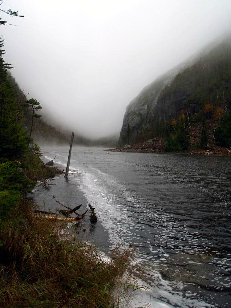 A Rainy Day and Mt. Colden\'s Trap Dike