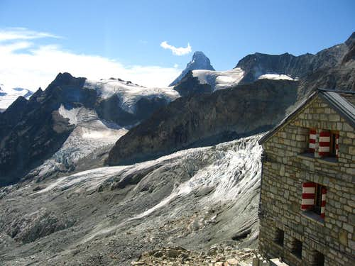 Rothorn hutte