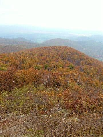 View from Hogback Overlook...