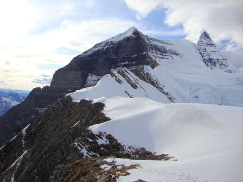 Ridge from col to Dome