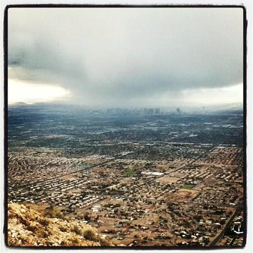 Storm Clouds Engulf Vegas