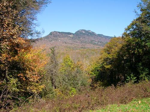 Grandfather mountain from the...