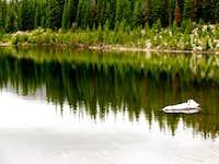 Reflections in Sandbeach Lake