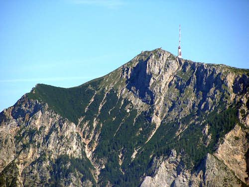 Summit of Dobratsch from Drelandereck