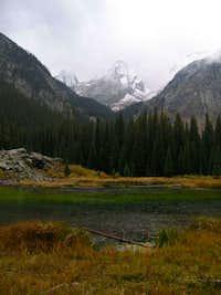 Arrow Peak from the Colorado Trail