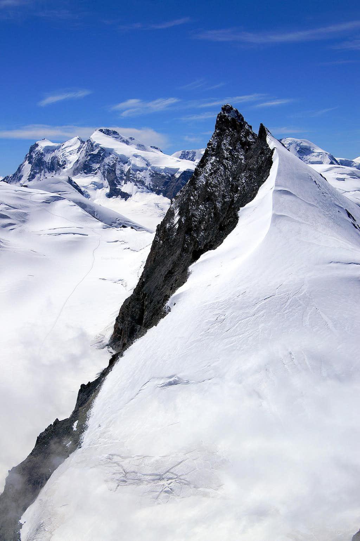 Monte Rosa and Rimpfischhorn