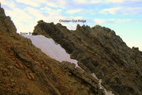 Chicken-Out Ridge