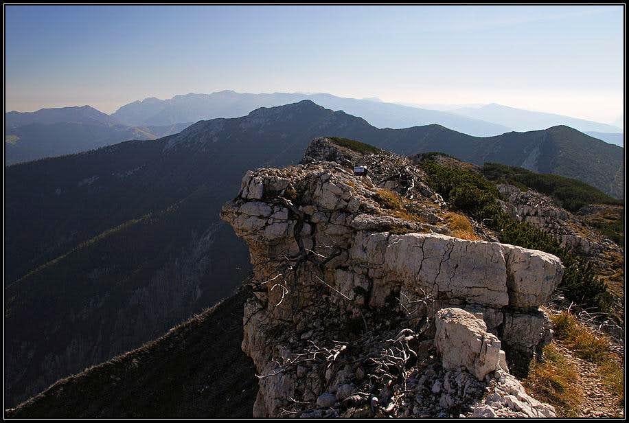 On the S ridge of Becco di Filadonna