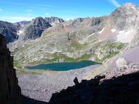 Leviathan Peak, Jagged Mountain, and Peak 7