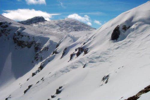 Cornices on Buchanan Pass