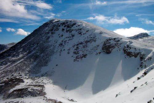Sawtooth Mountain's Northeast Face