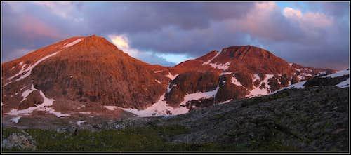 Last alpenglow...