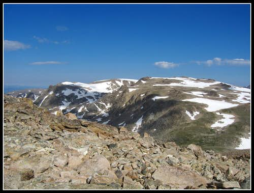 Continental divide peaks