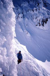 Yocum Ridge base of Big Step