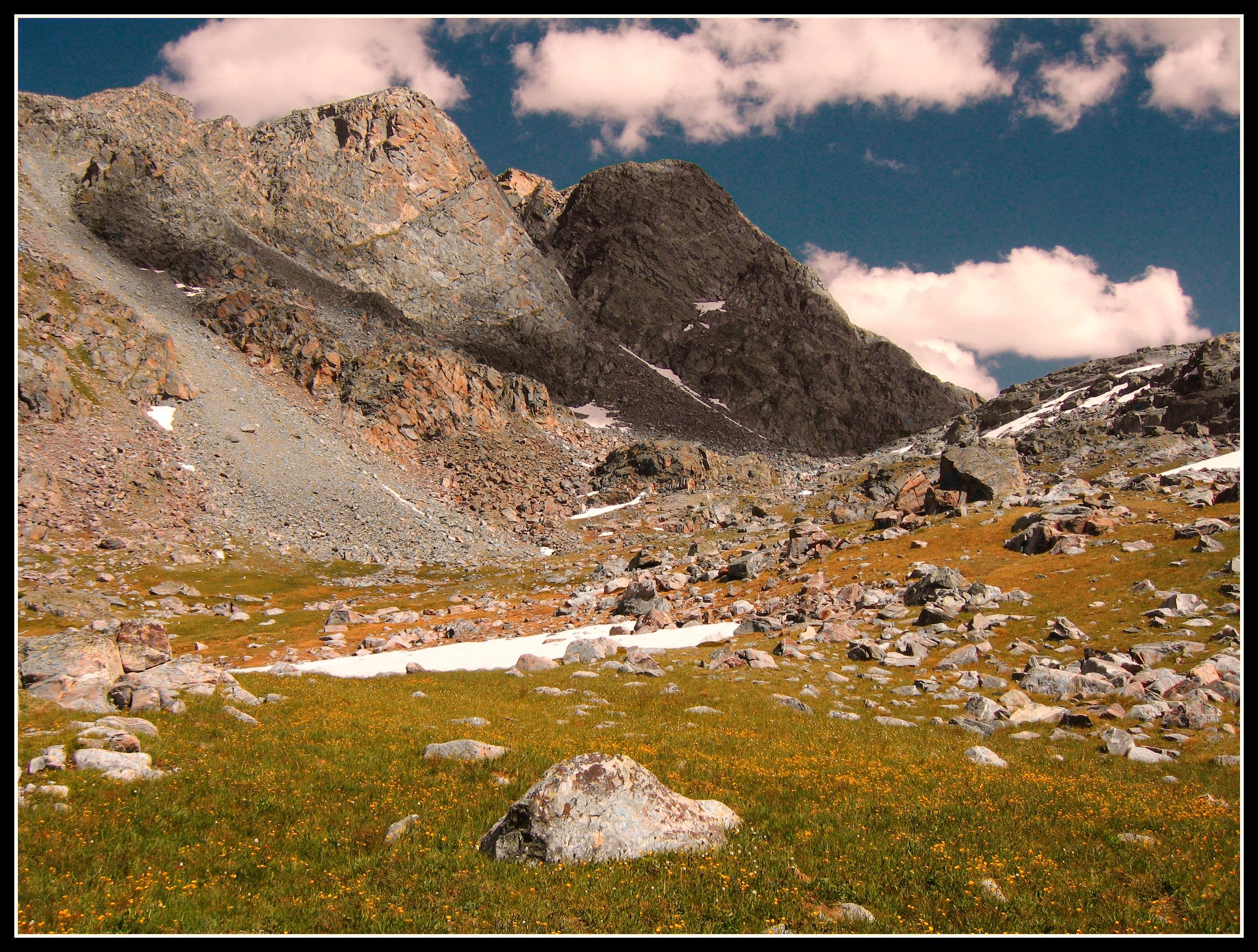 Wind River Range trek...August 2011