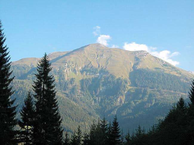 Riebenkofel (2386m) from the...