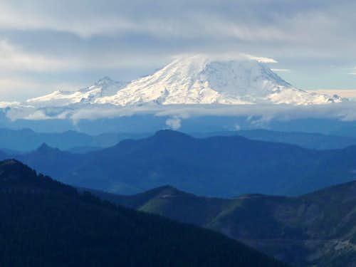 Looking Towards Mount Rainier