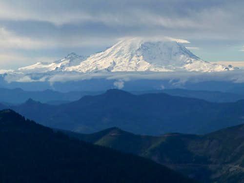 Looking Towards Mount Rainier