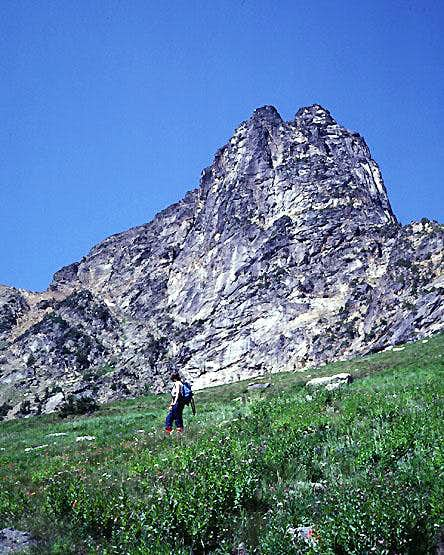 Cutthroat Peak from the south