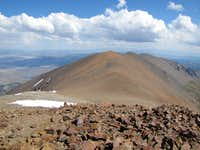 Parker Peak from Koip Peak