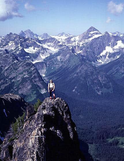 West Ridge, Cutthroat Peak
