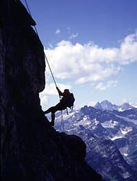 Cutthroat Peak Rappel
