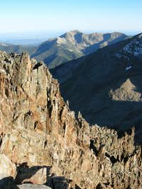 Baker Peak, Silver Mountain, and Deadwood Mountain