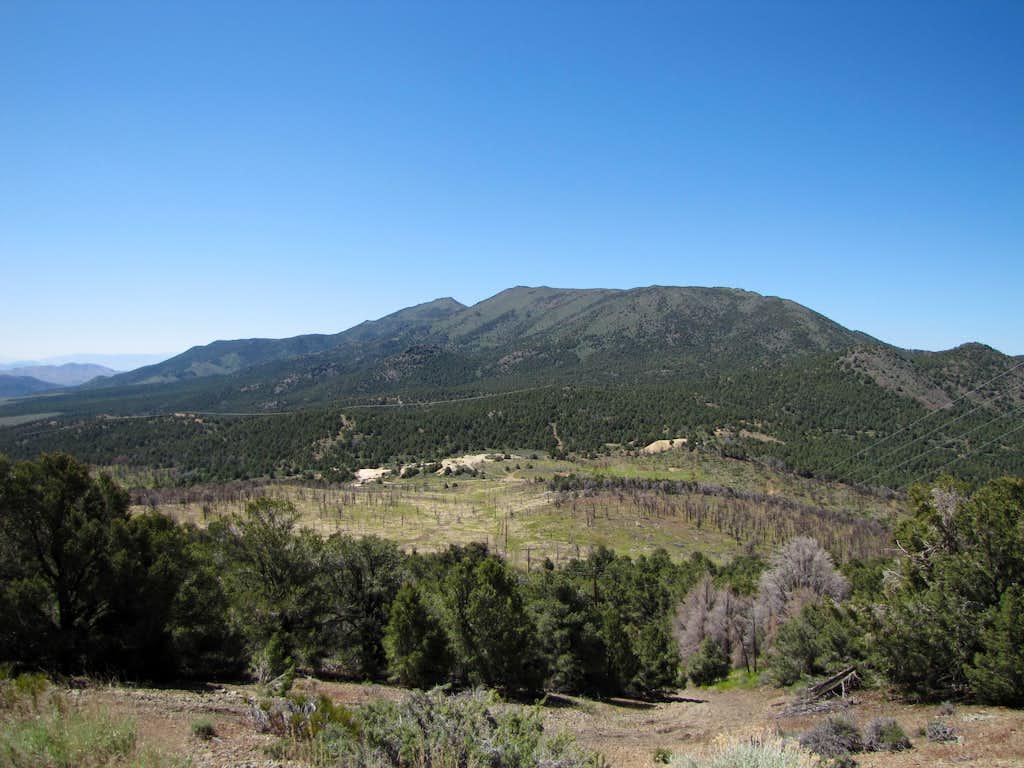 Lyon Peak from near the Como Saddle