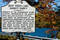 Deep Creek Lake Tributaries