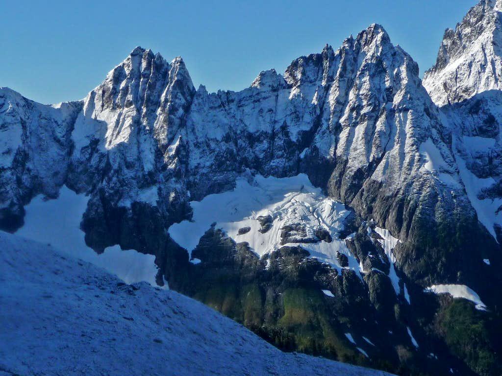 Fresh Snow on Cascade Peak
