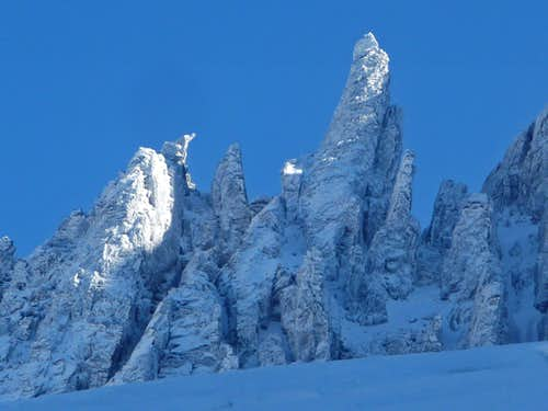 Jagged Spire on Boston Peak