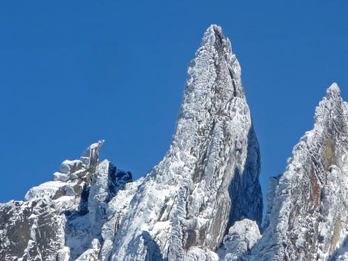 Rime Ice on Boston\'s Spire