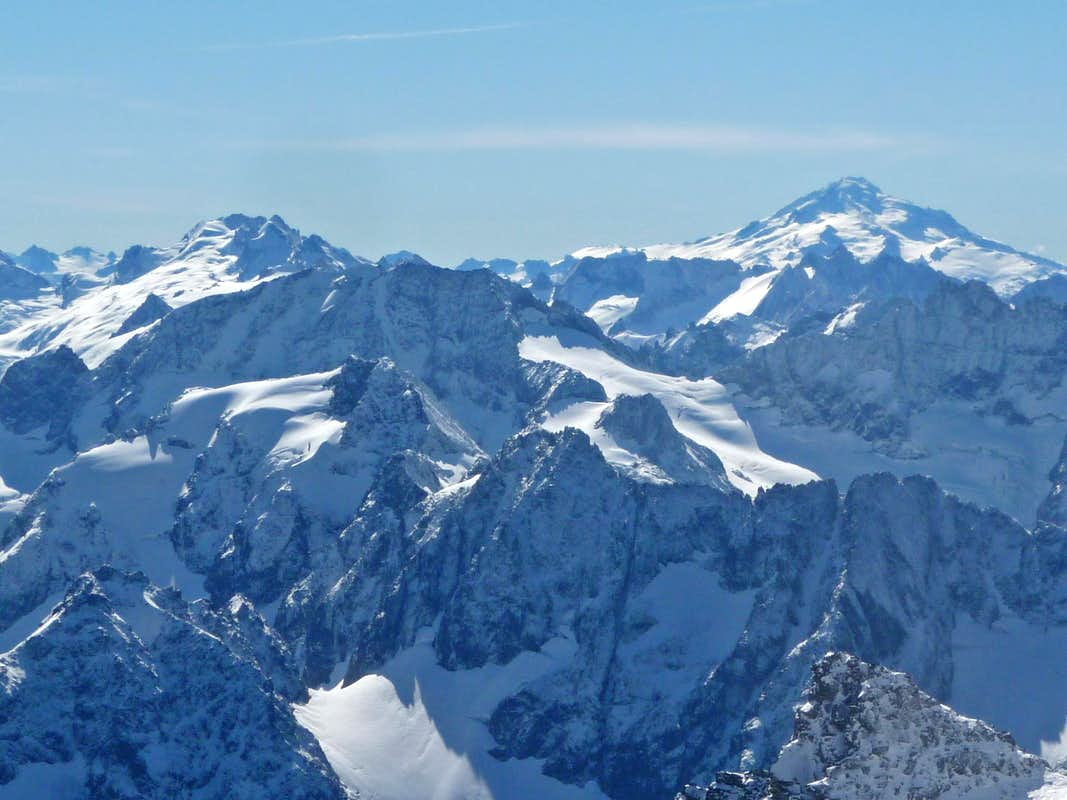 Dome, Formidable, and Glacier Peak