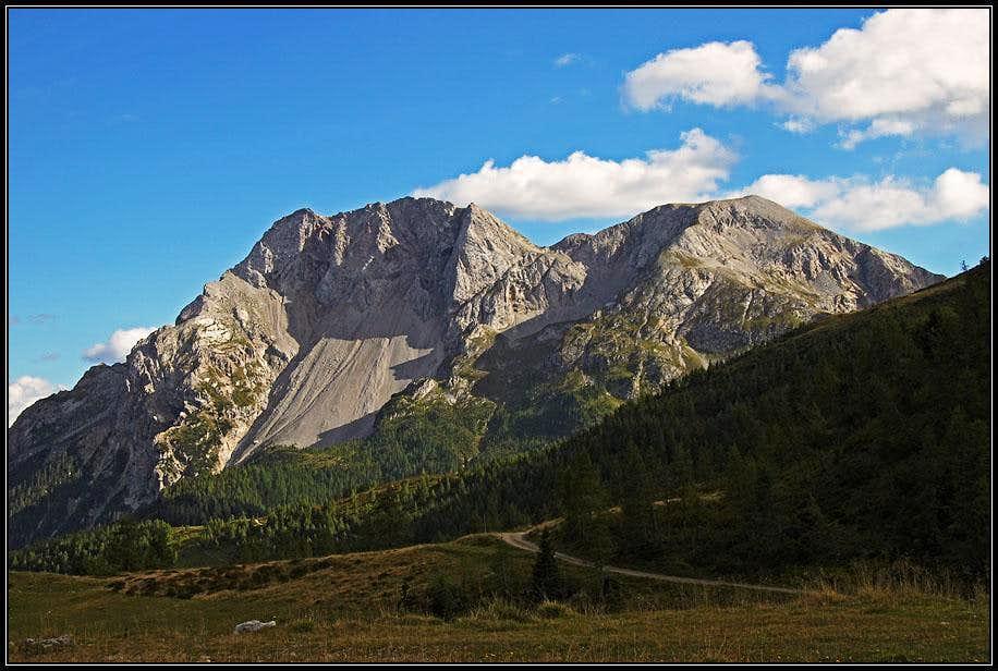 Monte Bivera and Clapsavon