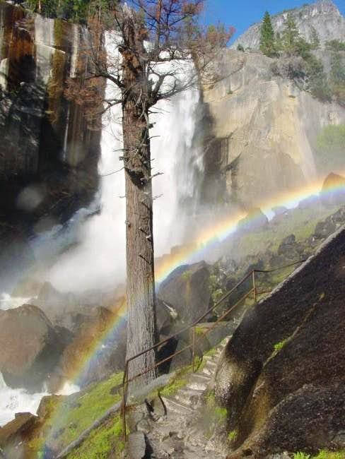 The Mist Trail and Vernal...