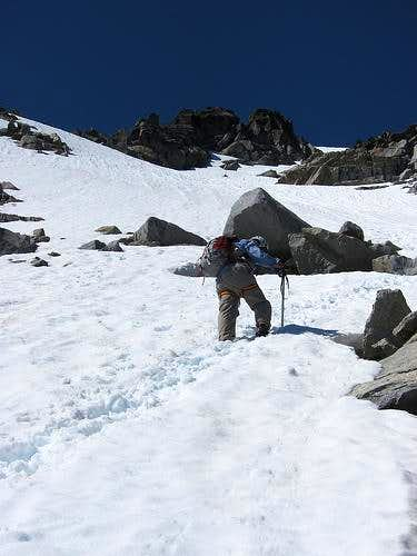 Mount Stuart - Snowfield