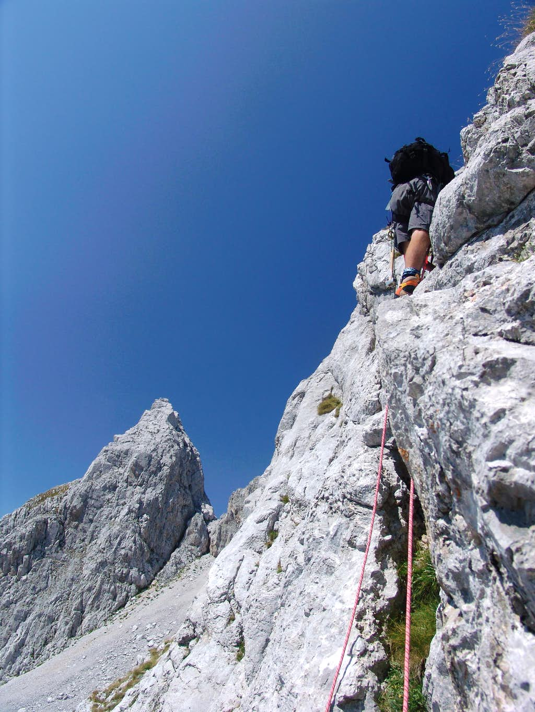 Technical climb 1