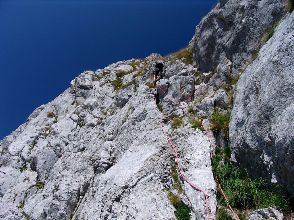 Technical climb 2