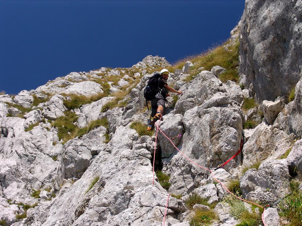 Technical climb 3