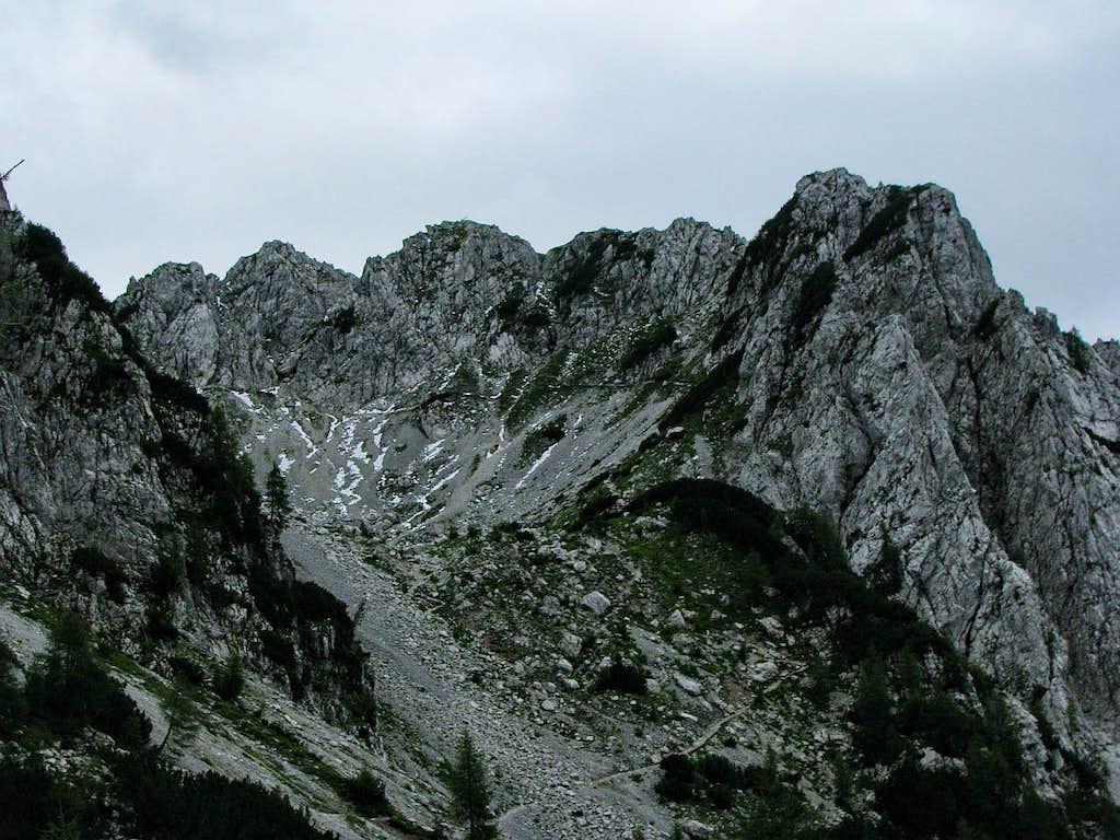 Crags of Cima del Cacciatore