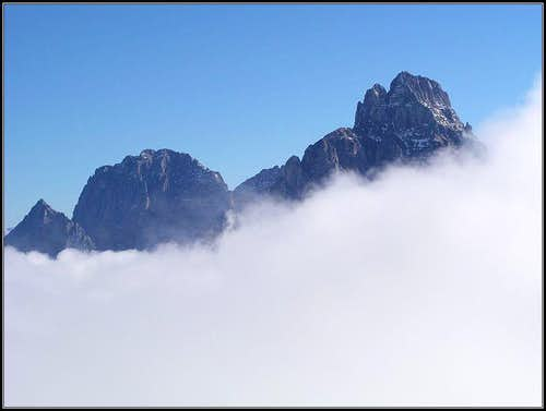 Montaz above clouds