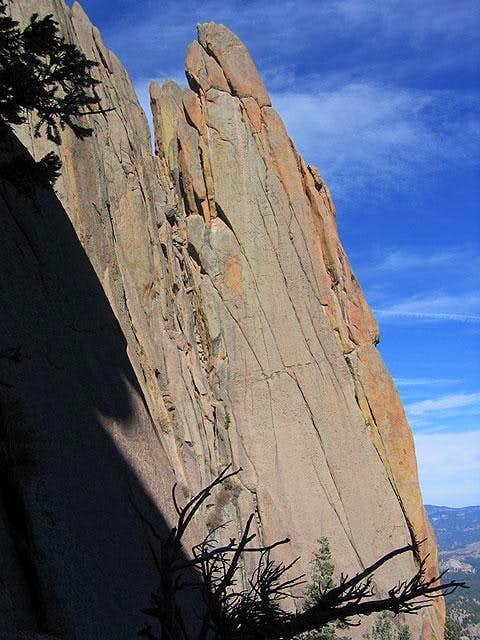 A beautiful rock pinnacle...