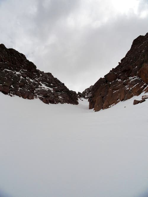 The Y Couloir